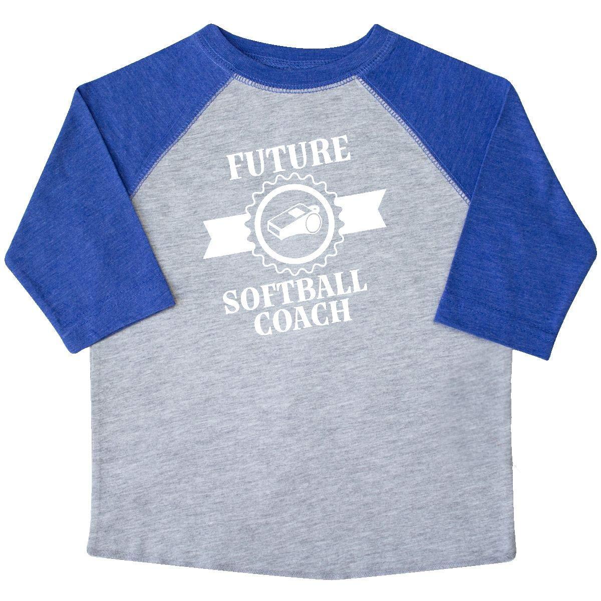 inktastic Future Softball Coach Girls Toddler T-Shirt