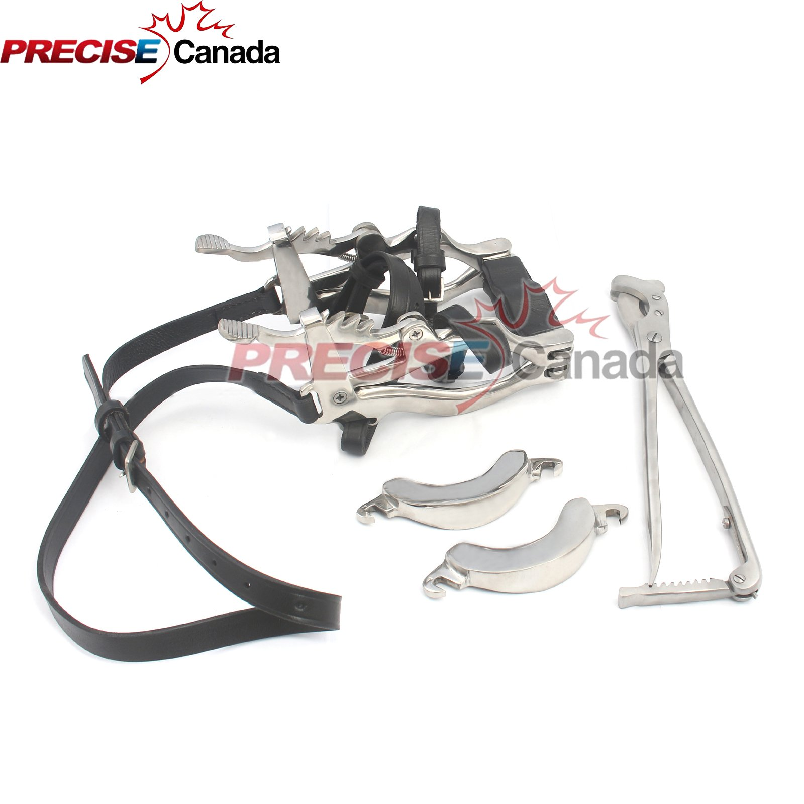 PRECISE CANADA: HORSE MOUTH SPECULUM STAINLESS STEEL SAND EMASCULATOR