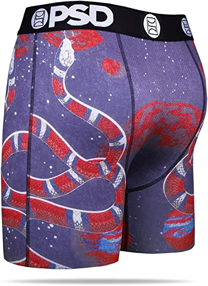 PSD Underwear mens Psd Mens Space Snake Athletic Boxer Brief