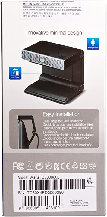 Samsung VG-STC3000 - Webcam (Micrófono Incorporado), Negro: Amazon.es: Informática
