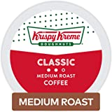 Krispy Kreme Classic, Single-Serve Keurig K-Cup Pods, Medium Roast Coffee, 12 Count (Pack of 6)