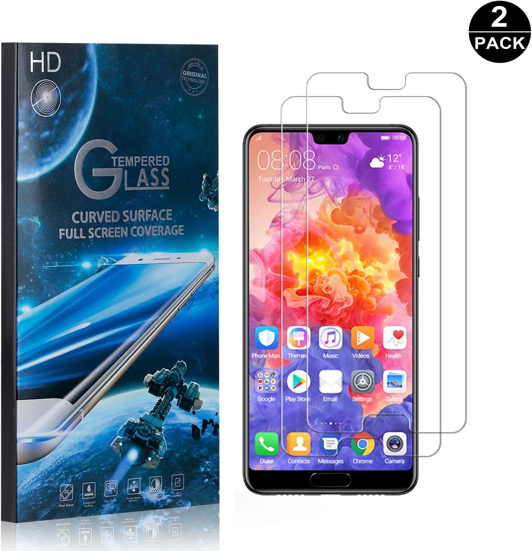 SONWO Huawei P20 Pro Verre Tremp/é 2 Pi/èces Protection /écran R/ésistant aux /éraflures Glass Screen Protector Vitre Tempered Protecteur pour Huawei P20 Pro
