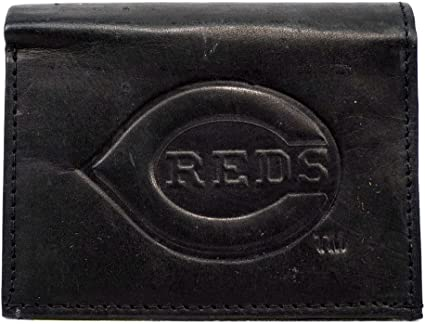 Rico Industries MLB Cincinnati Reds Embroidered Bifold Wallet