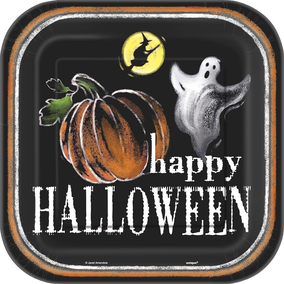 Ghostly Halloween Party Supplies by Unique