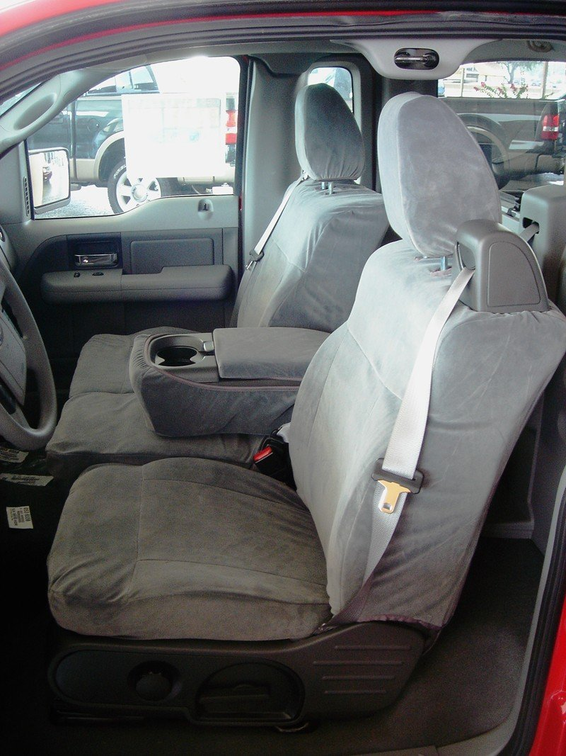 Prime Durafit Seat Covers Made To Fit F369 V7 Ford F150 Xcab Front 40 20 40 Seat Belts Come From Top Of Seat Not For Double Cab Gray Automotive Velor Squirreltailoven Fun Painted Chair Ideas Images Squirreltailovenorg