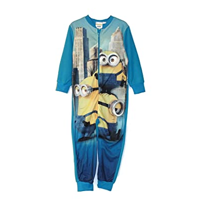 AME Despicable ME Boy's Size 4/5 Years Minions in The City Pajama Sleeper