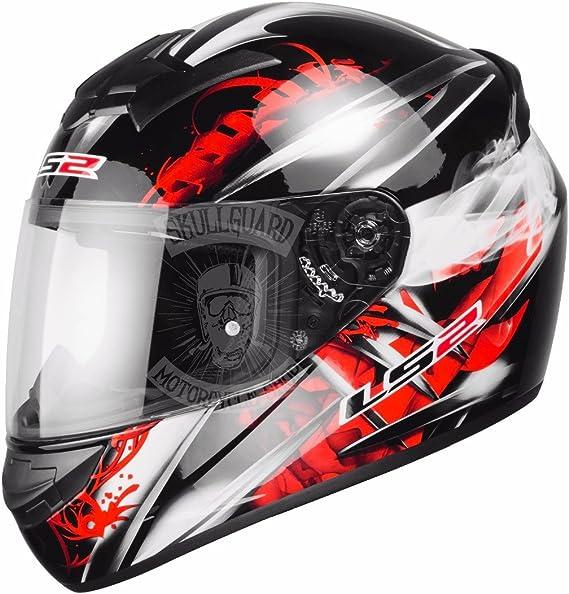 Amazon.es: LS2 FF351 Wolf. Casco integral de moto, talla M, color rojo