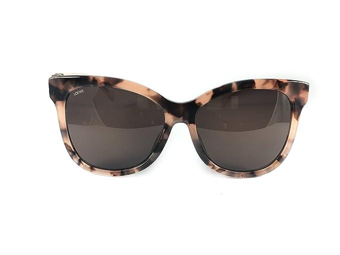 Loewe SLW950G5901GT Gafas de sol, Pink Havana/Fuchsia, 59 ...