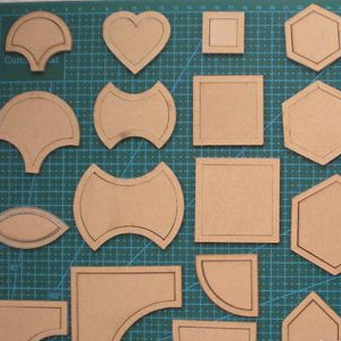 Mixed Quilt plantillas acrílico DIY herramientas para Patchwork ...