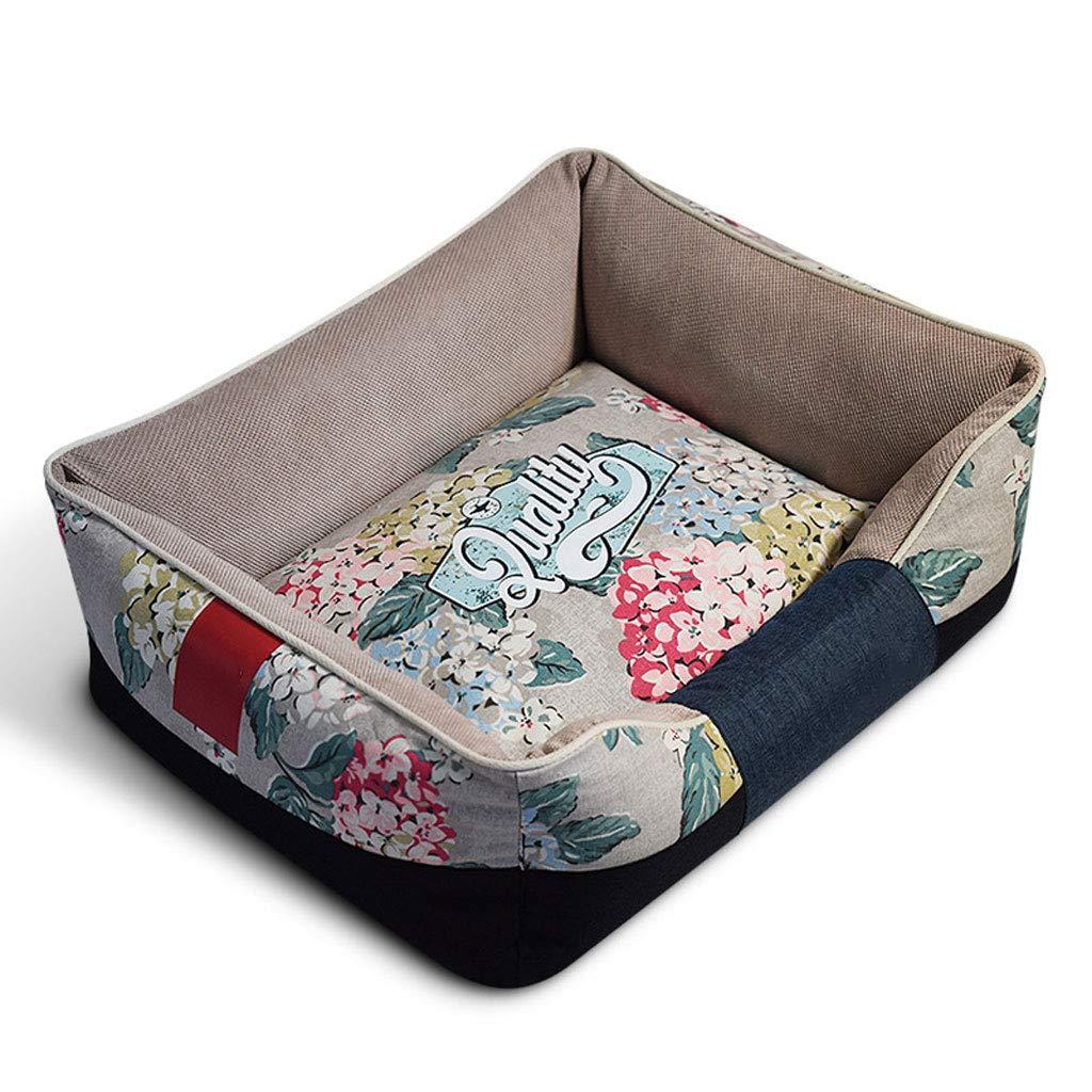 B Large B Large XUELIHUA Dog Bed, Comfortable Kennel Cat Litter Pet Nest, Medium,B,L