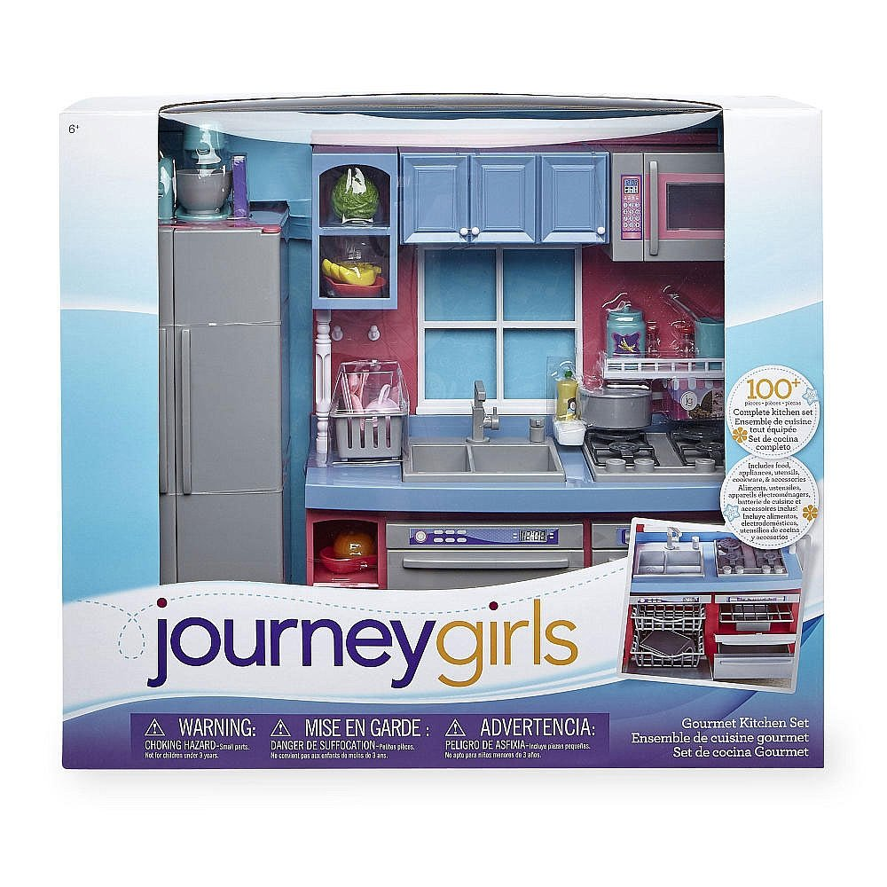 Amazon.com: Journey Girls Gourmet Kitchen Set: Toys & Games