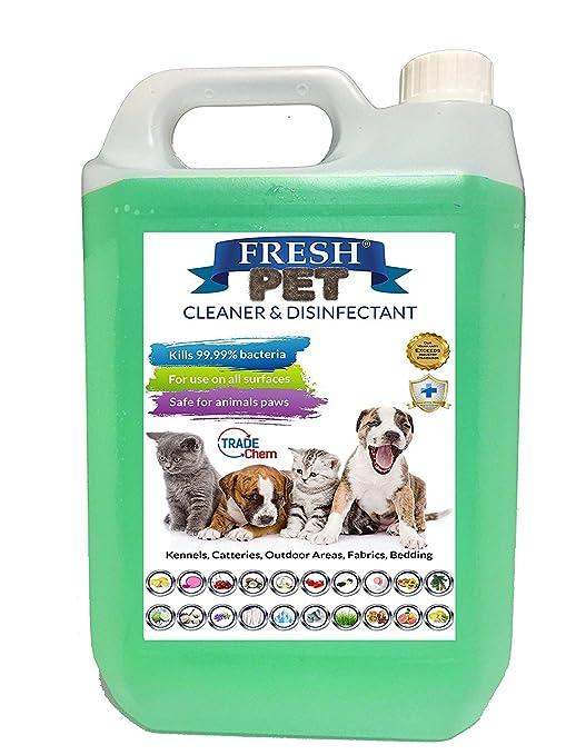 Desinfectante y ambientador para casetas de mascotas, 5 litros