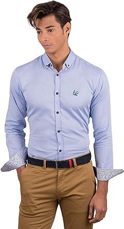 La Vespita Camisa Contraste de Lunares y Logo Vespa: Amazon.es: Ropa y accesorios