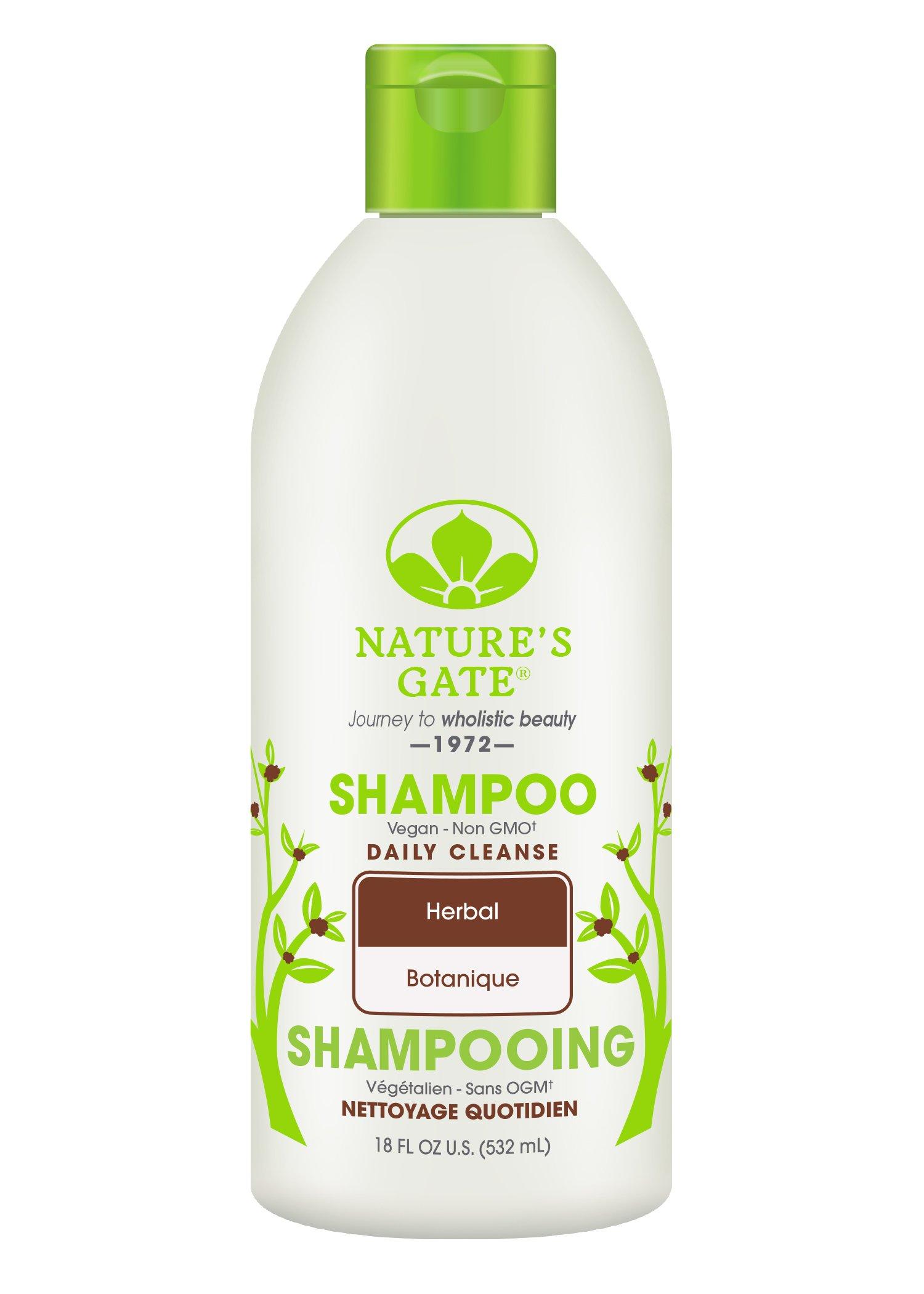 Nature S Gate Herbal Shampoo Fragrance