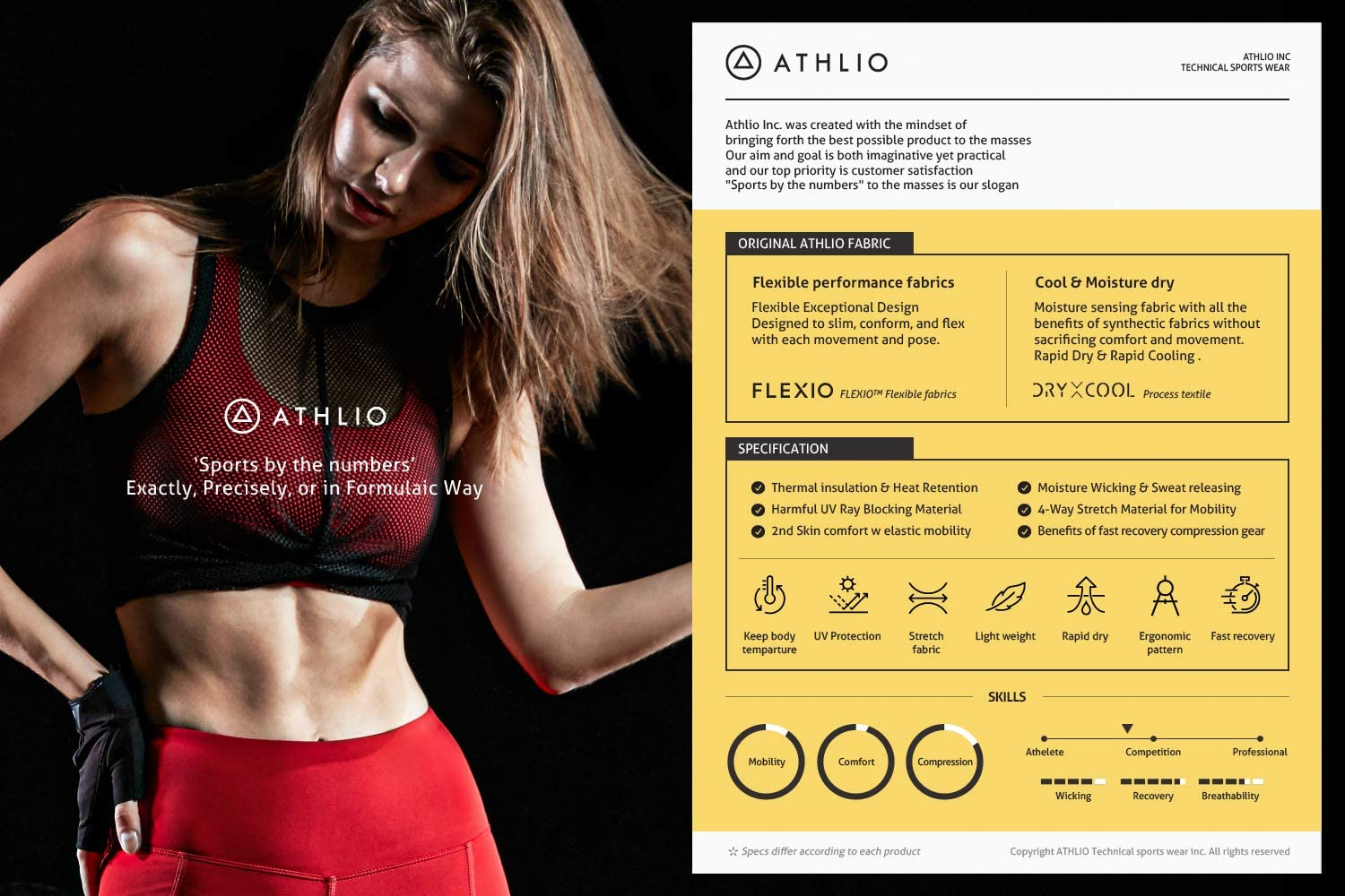 ATHLIO 2 Pack Womens Compression Active Long Sleeve T-Shirts Cool Dry Baselayer