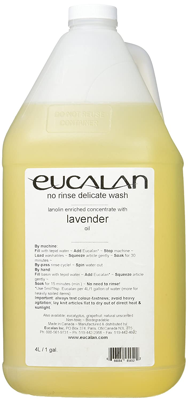 Eucalan 罰金ファブリック洗浄ガロン水差しラベンダー B0021G09I4