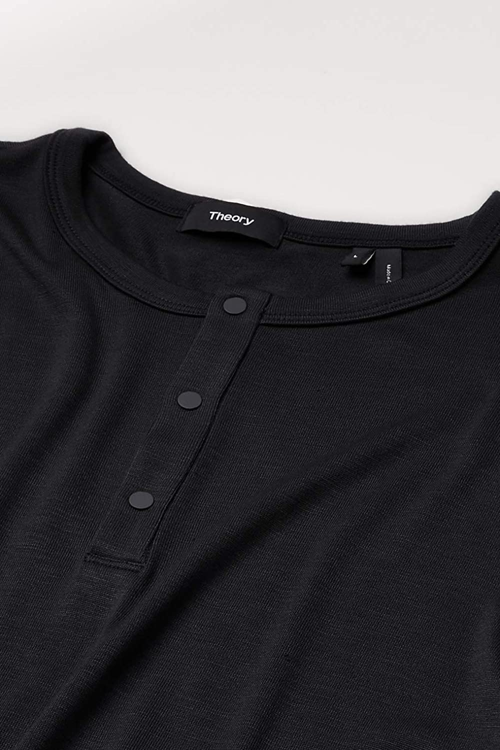 Theory Mens Anemone Snap Henley
