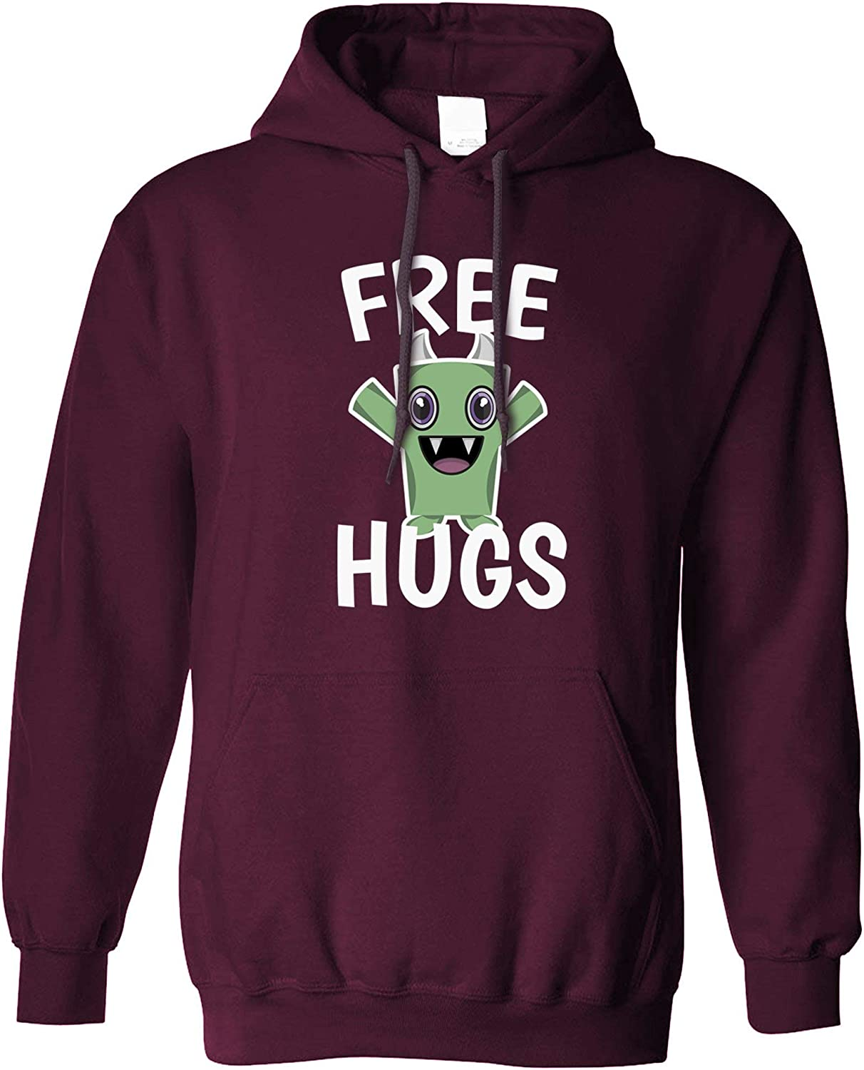wellcoda Youth Has No Age Slogan Womens Hoodie Quote Print on The Jumpers Back