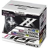 IPF ヘッドライト LED H4 バルブ 12V/24V 兼用 6500K セパレートモデル 141HLB2【最新2018年モデル】