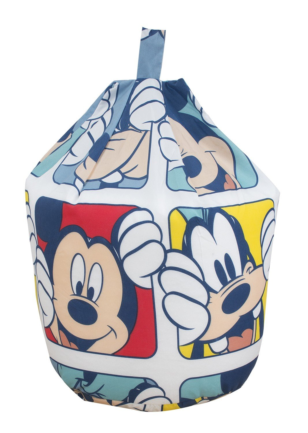 Disney Mickey Mouse Play Character Blue Cotton Seat Chair Bean Bag With Filling Amazoncouk Kitchen Home