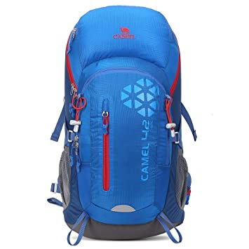 ea4f6630cffb Camel 42L Internal Frame Backpack Backpacks for Backpacking Camping Hiking  Travel Outdoor Large Lightweight Daypack with Rain Cover