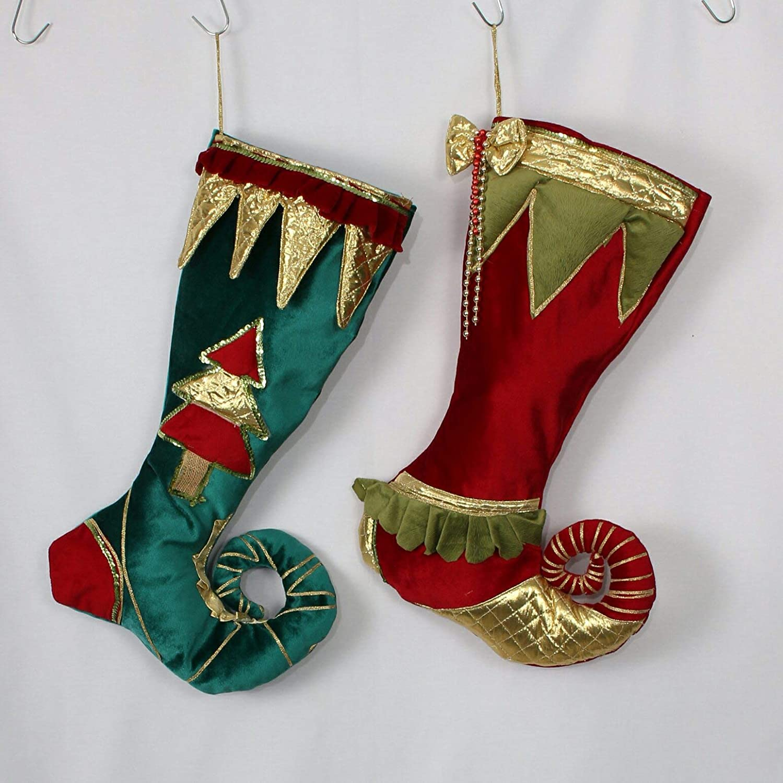bc401927993 Amazon.com  Elf Christmas Stockings