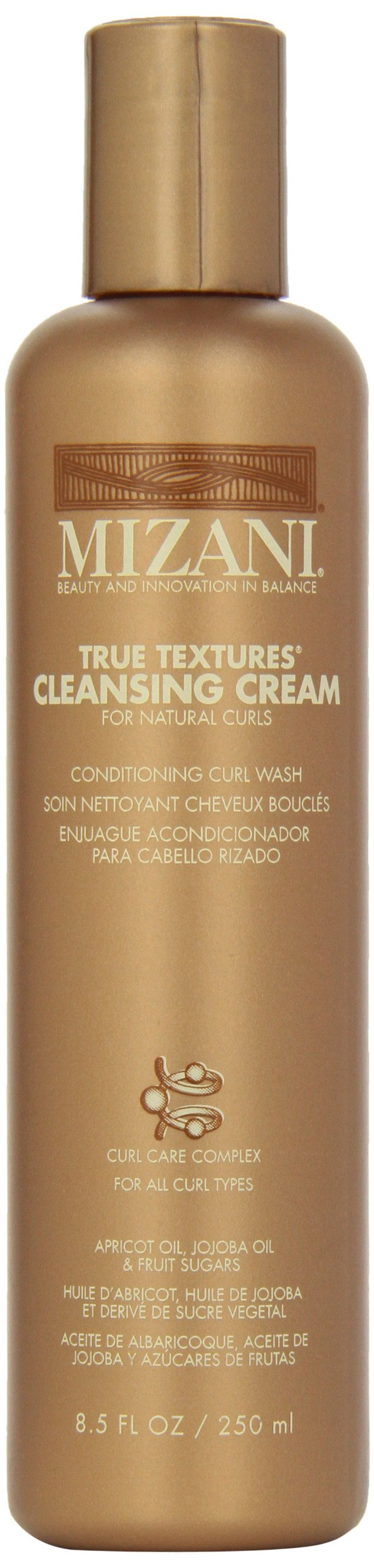 True Textures Cleansing Cream Conditioning Curl Wash by Mizani, 8.5 Ounce