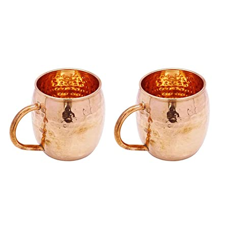 Copper Hammered Moscow Mule Mug Tableware Utensil Kitchenware Bar Accessories