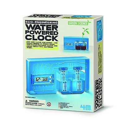 4M- Green Science Reloj de Agua, (403411): Juguetes y juegos