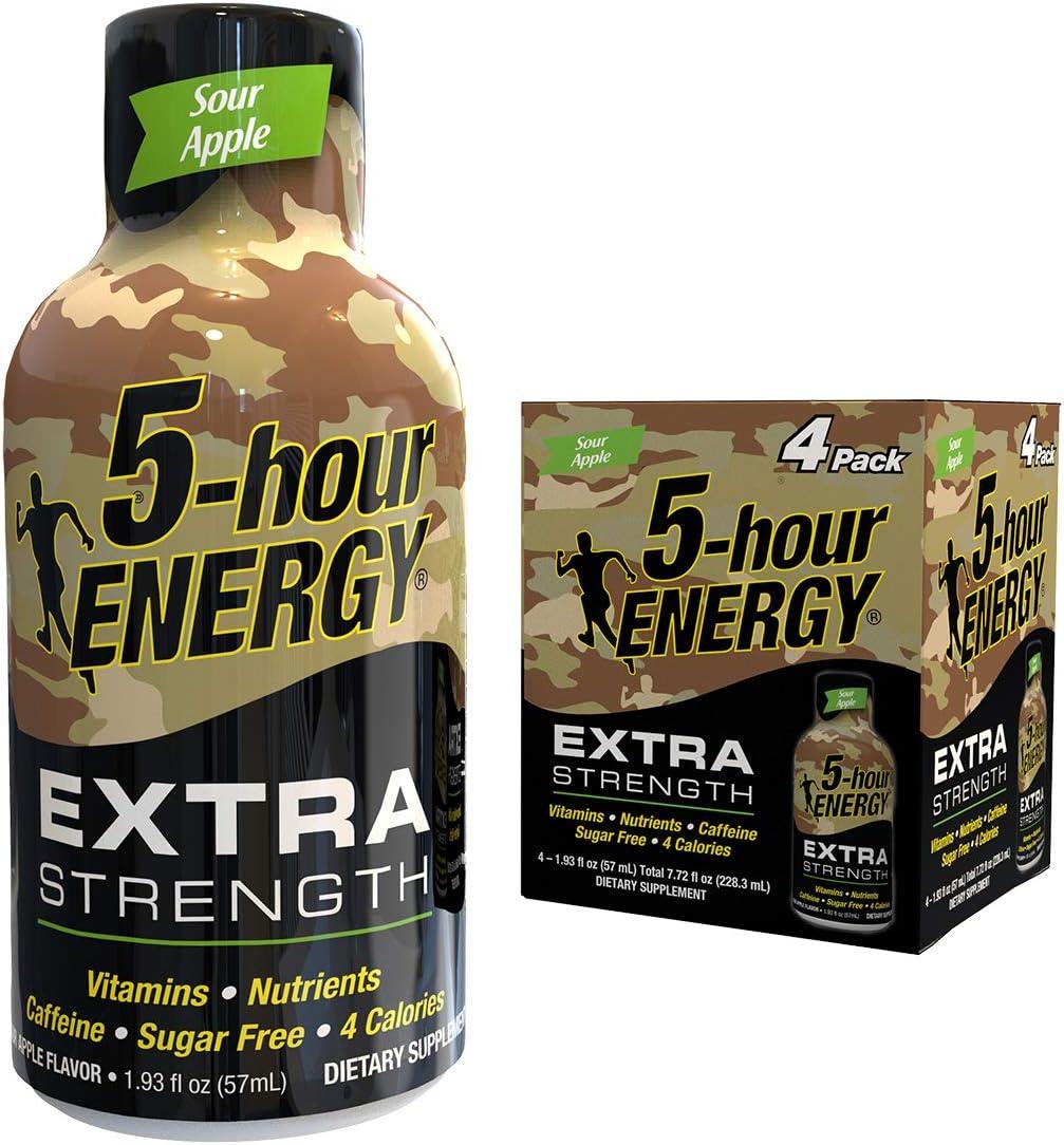5-hour ENERGY® Shot, Extra Strength, Sour Apple, 1.93 oz.
