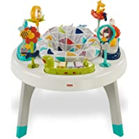 Fisher-Price 2-in-1 Sit-to-Stand Activity Centre, Baby or Toddler activity Toy with Table, Seat, Textures, Colours and Sounds, for Sitting and Standing
