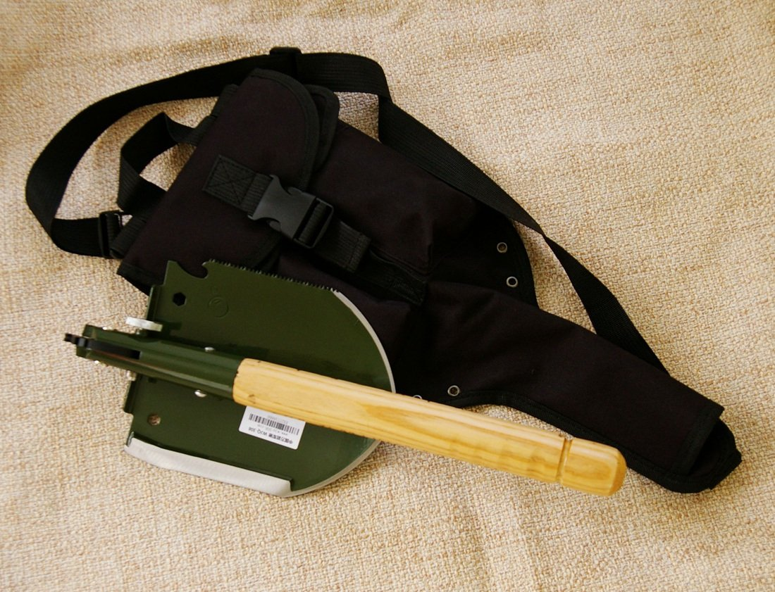 Chinese Military Shovel Emergency Tools WJQ-308 Ver 2012 with Original Waterproof Cases Bag Kit by WJQ (Image #2)
