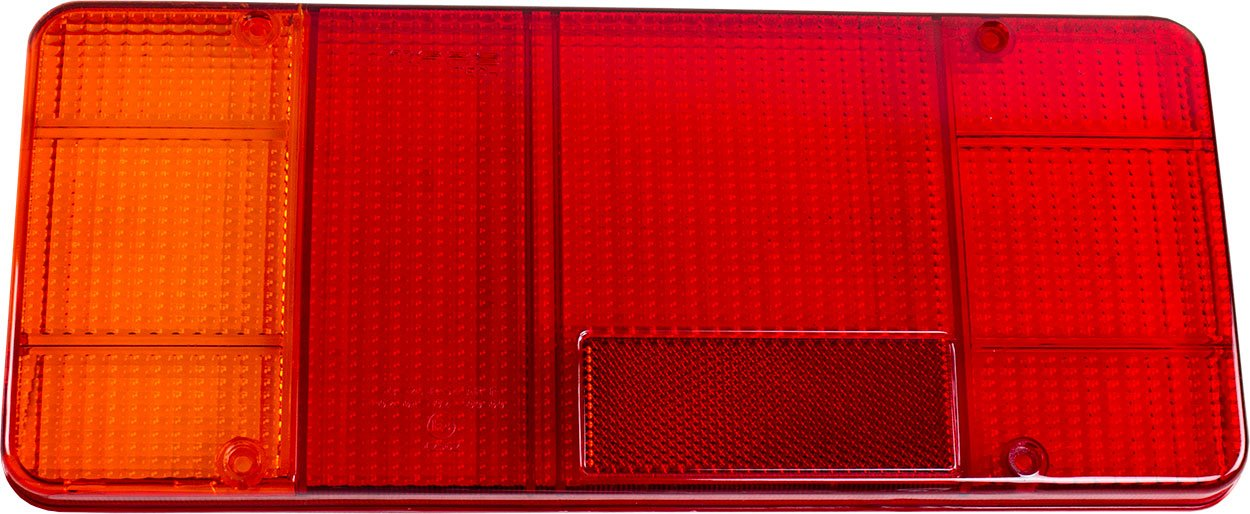 TarosTrade 41-0544-L-5736 Vetro Luce Di Stop Per Furgoni Aperti E-Mark Per Citroen JumLato Sinistro