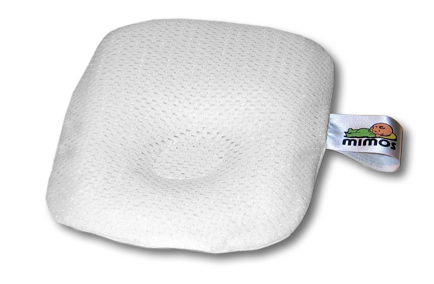 MIMOS Baby Pillow (Pram) - Air flow Safety ( TUV certification) - Size P (Head Circumference 36 - 46 cm) by MIMOS