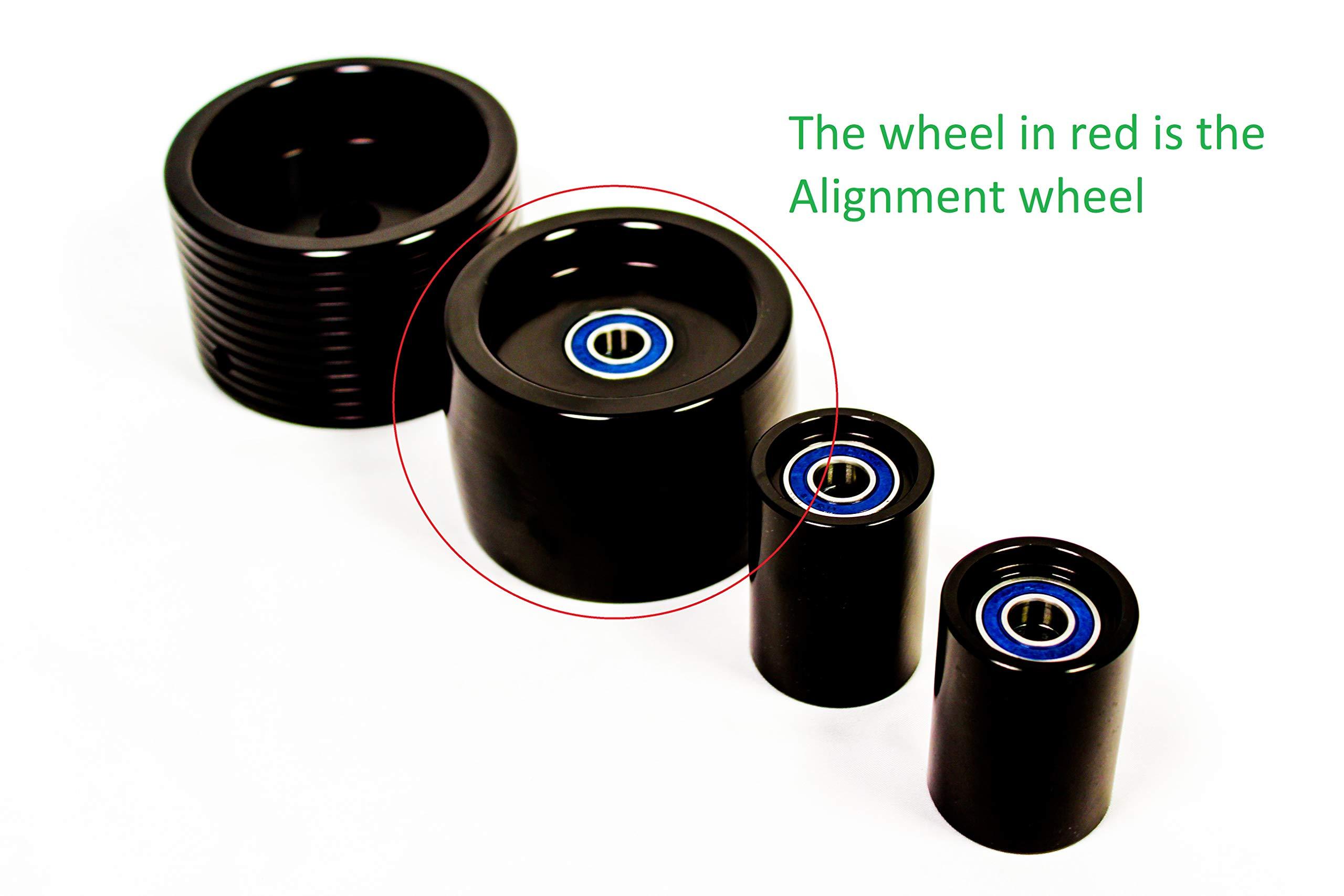 Belt Grinder Alignment Wheel WEAR RESISTANT WHEEL MADE IN USA by The Belt Grinder