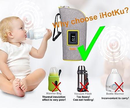 Amazon.com: Calientabiberones, ihotku calentador de botella ...