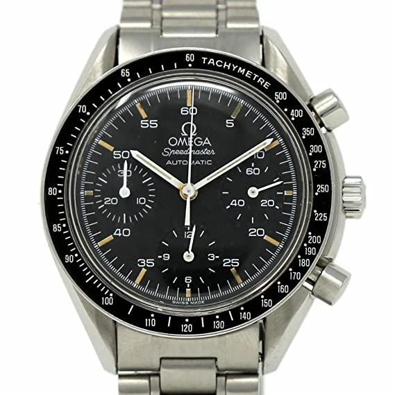 4b88bf72742d2 Image Unavailable. Image not available for. Color  Omega Speedmaster Swiss-Automatic  Male Watch ...