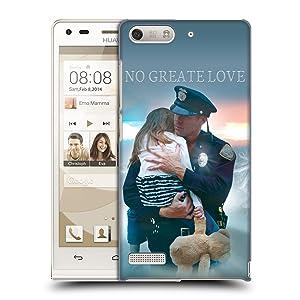 Official Jason Bullard Police Rescue Law Enforcement Hard Back Case for Huawei Ascend G6