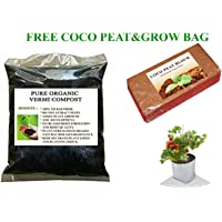 Elamgreen 5Kg Vermicompost For Plants With Grow Bag