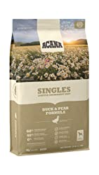 Biologically Appropriate & Grain Free Limited Ingredient Dry Dog Food, Duck & Pear by ACANA Singles
