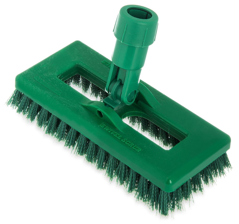 Carlisle 363883103 Swivel Scrub Brush, 8', Black 8 Carlisle Corporation 3638831-03