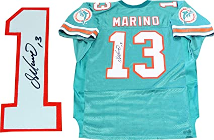 d5062cffe Dan Marino Autographed Miami Dolphins Jersey at Amazon s Sports ...