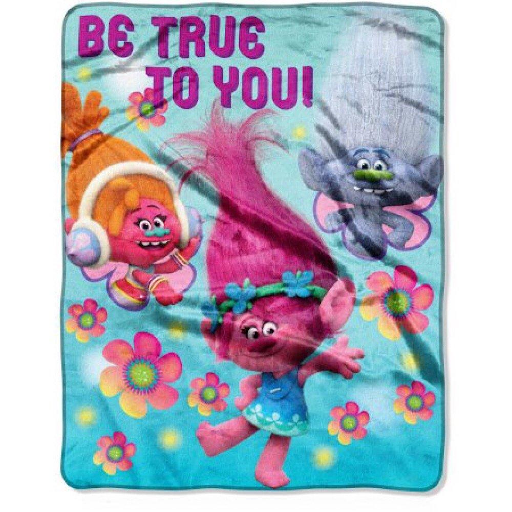 Trolls Kids DreamWorks Soft Throw Blanket