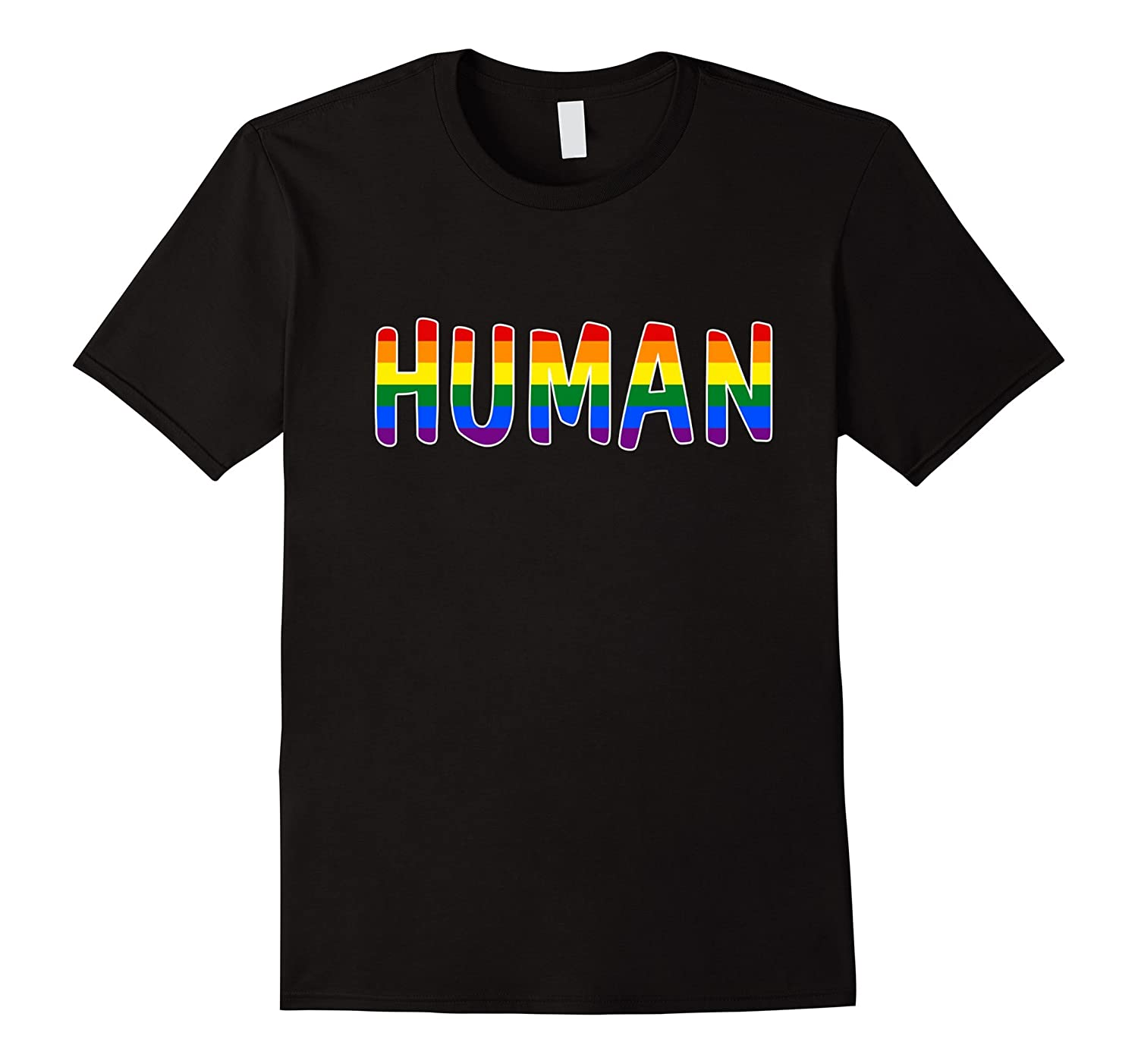 Human LGBT Lesbian Gay Bisexual Transgender Support Shirt-Vaci