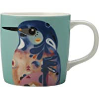 Maxwell & Williams Azure Kingfisher Design Pete Cromer Mug, 375 ml Capacity