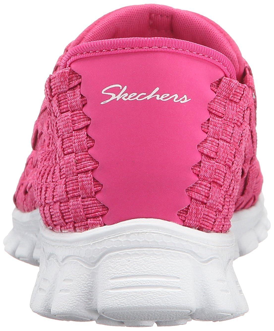 Skechers Sport Easy Flex 2 Pedestal Fashion Sneaker  Fucsia/Bianco