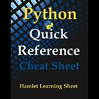 Python: Quick Reference - Cheat Sheet - Print & Laminate