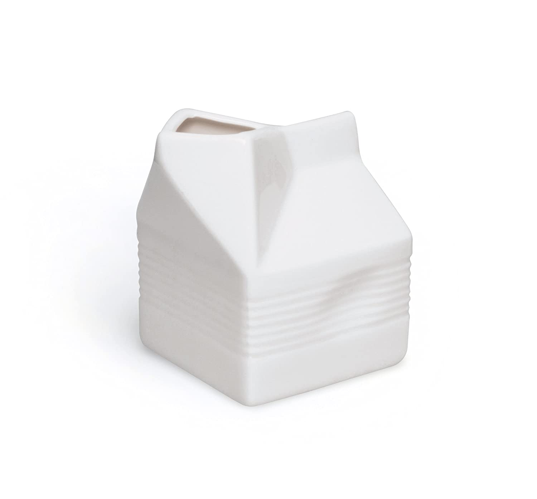 Excelsa Brick lechera, 250 ml, cerámica, Blanco: Amazon.es: Hogar