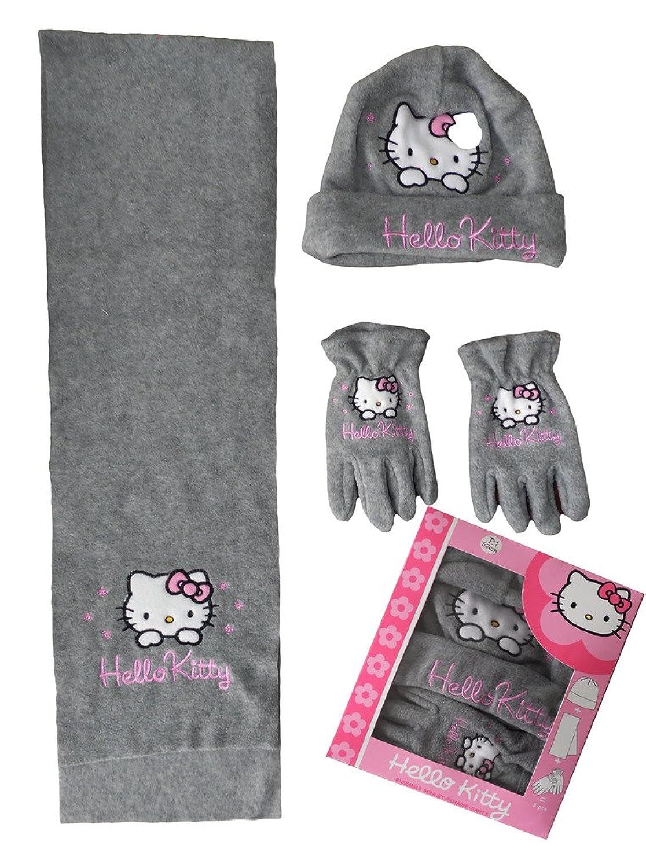 Hello Kitty Mädchen Handschuh-Set Mehrfarbig Mehrfarbig