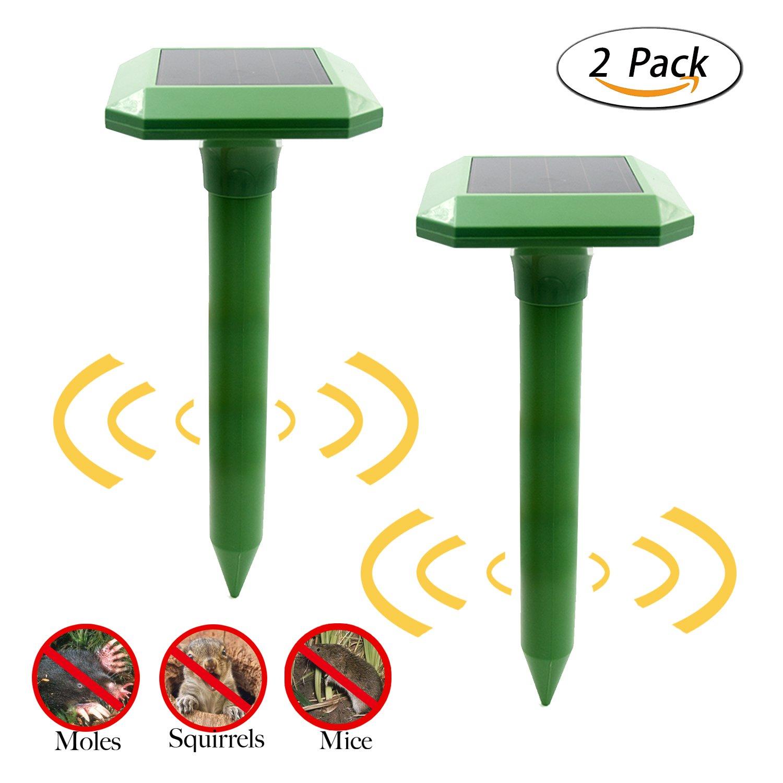 Zikke Outdoor Solar Animal Repellent – Solar Powered